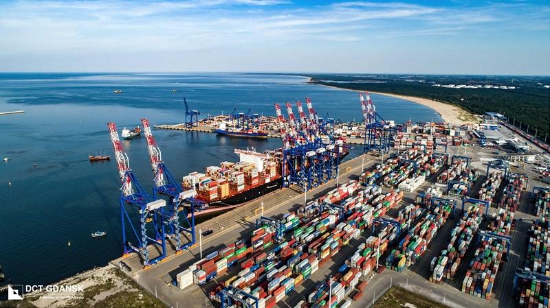 Gdansk containter terminal