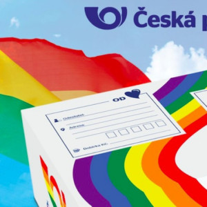 Czech Post supports Prague Pride
