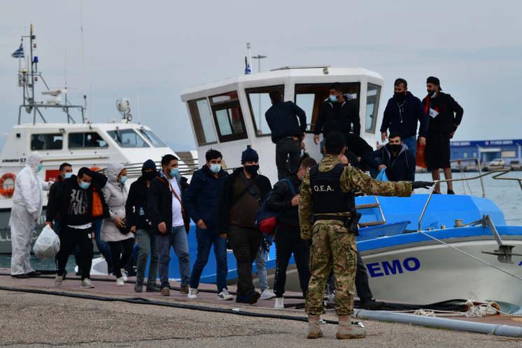 Vandalism by immigrants in Greece