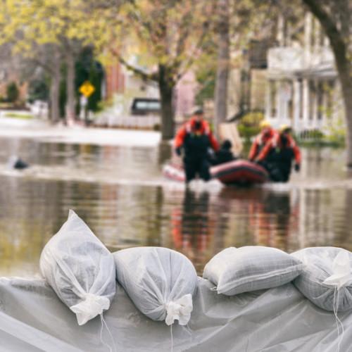 Belgium looting after flood