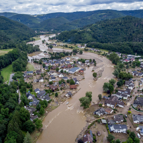 Flood reconstruction in Germany