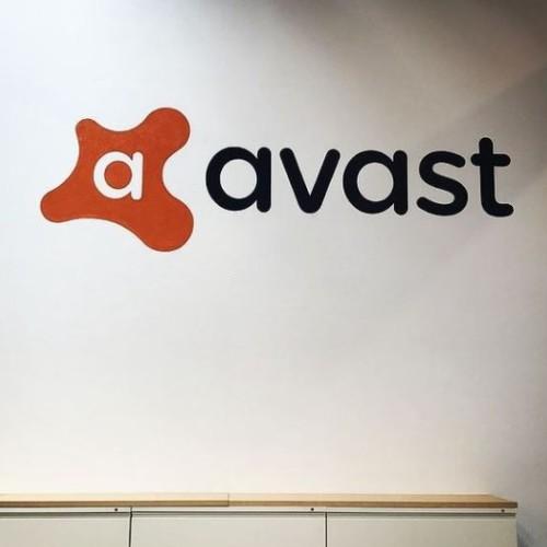 Logo of the Avast antivirus company