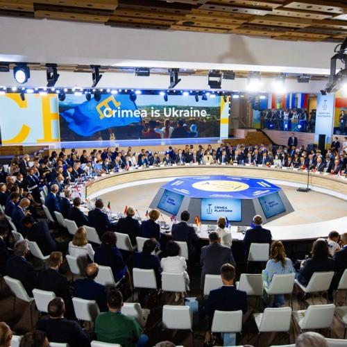 Crimea platform in Kiev President Duda