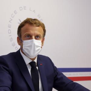 French President Emmanuel Macron, initiative to curb migratory flows