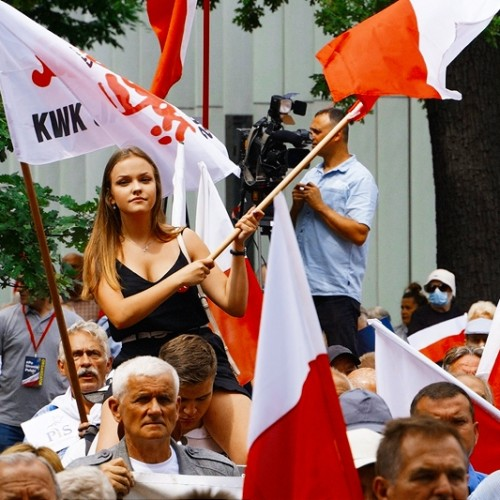 Polish demonstrations for sovereignty