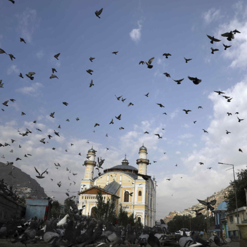 Mosque in Afghanistan, centre of radical Islamism