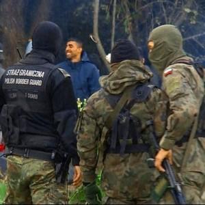 Polish Border Guard illegal migrants Belarus