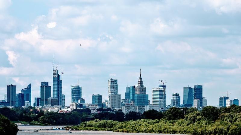 Poland GDP rising
