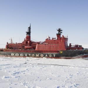 Russia arctic icebreaker