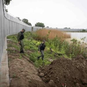 Greece, border wall