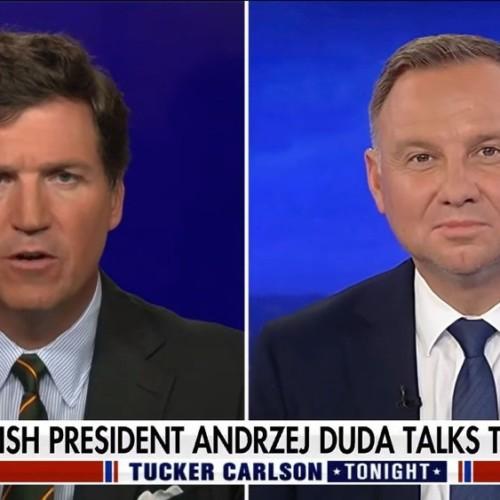 Duda Fox interview president of Poland
