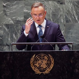 Andrzej Duda, Annual United Nations General Assembly Belarus hybrid attack