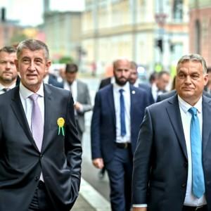 Andrej Babiš, Viktro Orbán, Czech Republic, migration