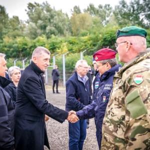 Andrej Babiš, Viktor Orbán, Hungary, border protection, Schengen area