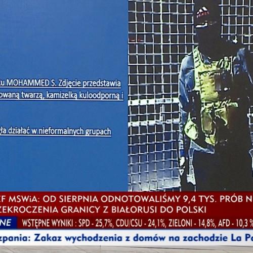Belarus migrants TVP Info MSWiA