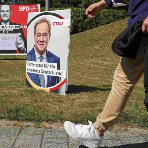 SPD, CDU, Germany, parliamentary elections, political map