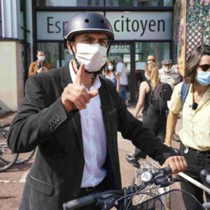 Grégory Doucet, Lyon, Bordeaux, speed limit, the Greens