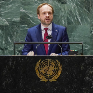 Jakub Kulhánek, Czech Republic, foreign minister, UN General Assembly, terrorism
