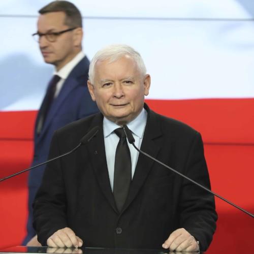 Kaczyński Morawiecki Poland United Right