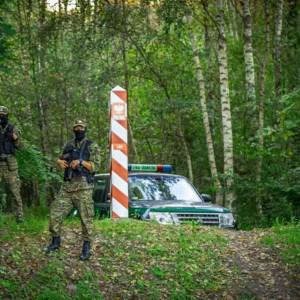 Poland Belarus border migrants Border Guard