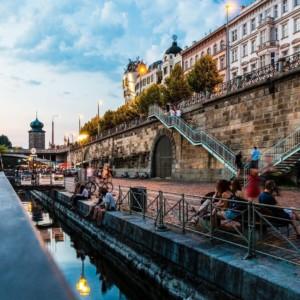 Prague, Vltava embankment, Time Out magazine, most beautiful city
