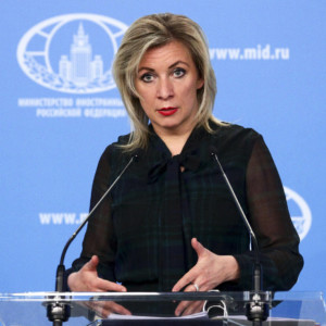Maria Zakharova, Czech Republic, Russia, arrest, Ukraine