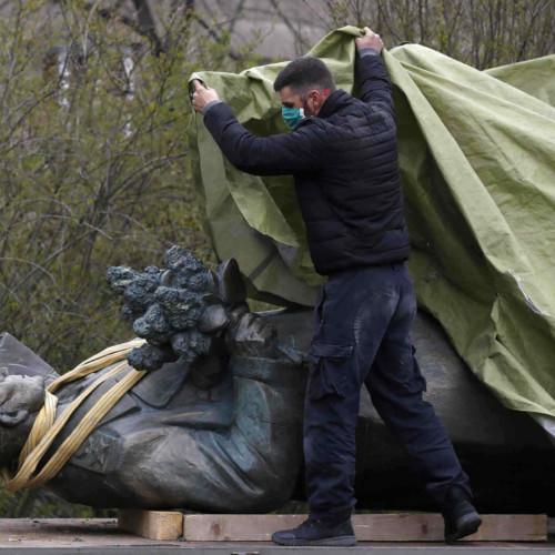 Marshal Konev, statue