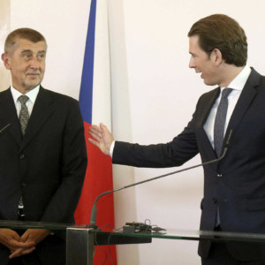 Andrej Babiš, Sebastian Kurz