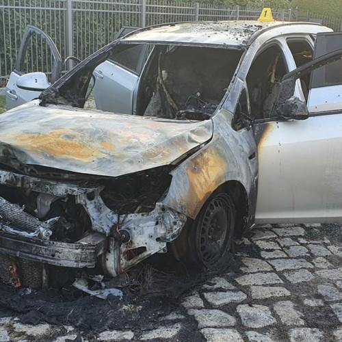 Vadim Derksen, AfD, burining car, arson attack