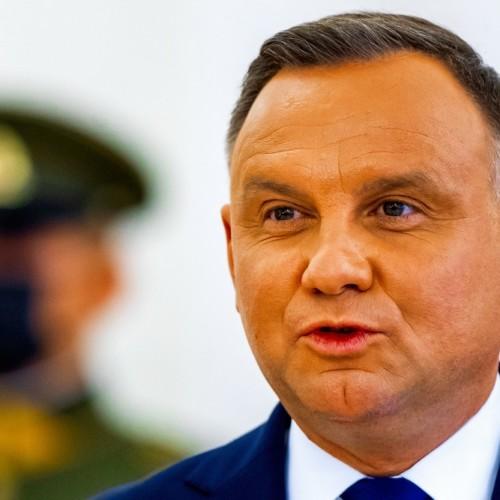 Andrzej Duda Vilnius