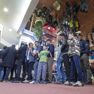 Germany, asylum seekers. racism, living conditions