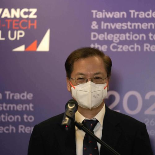 Taiwan, Czechia, Kung Ming-hsin, Miloš Vystrčil, economic cooperation