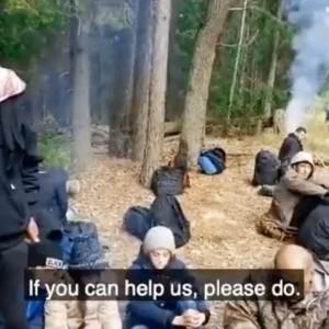 Migrants Polish-Belrusian border Lukshenko's hostages