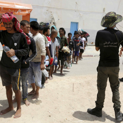 Libya, illegal migration, intervention, police