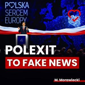 Morawiecki FB Polexit fake news