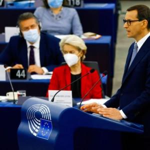 Morawiecki von der Leyen EP