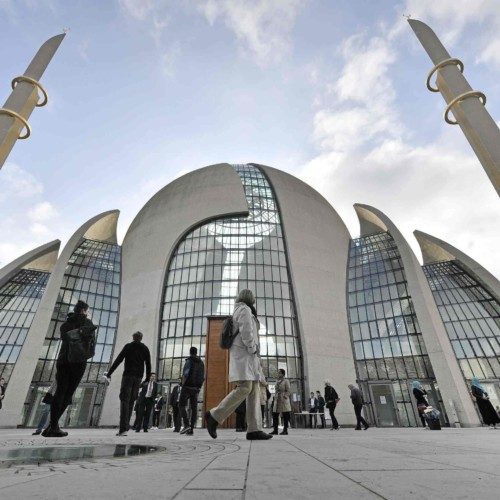 Germany, Muslims, call to prayer, muezzin