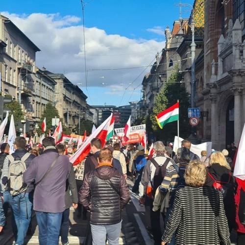 Poland Hungary Budapest Peace March