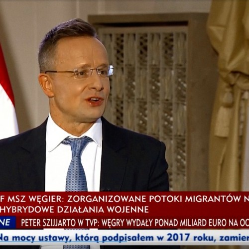 Peter Szijjarto TVP Info Hungary Poland