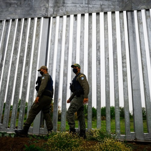 Poland border wall Sejm