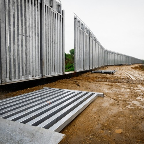 Poland Belarus security wall cost